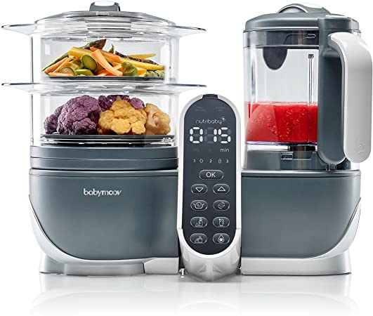 Babymoov Nutribaby 5 in 1 Baby Food Maker With Steam Cooker Review